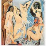 Pablo Picasso Lithograph, Les Demoiselles d'Avignon (The Young Ladies of Avignon), 1955