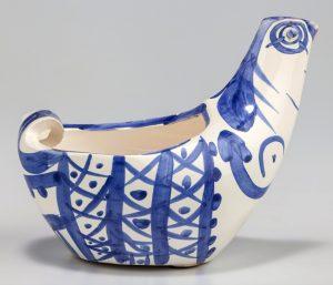 Pablo Picasso Ceramic, Sujet poule (Hen Subject), 1954