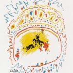Pablo Picasso Lithograph, La Petite Corrida (The Little Bullfight), 1957