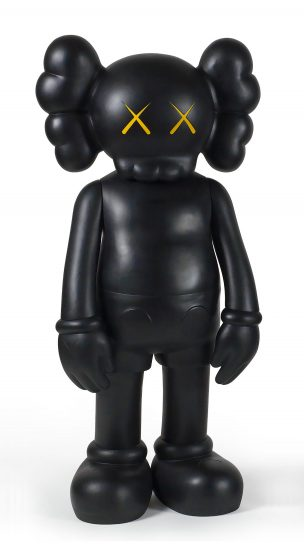 KAWS Lithograph, 4 Foot Companion, 2007