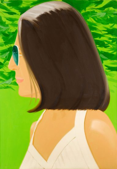 Alex Katz Silkscreen, Ada in Spain, 2018