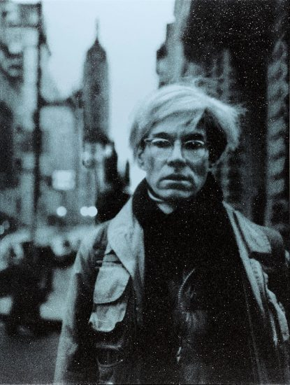 Russell Young Screen Print, Andy Warhol, NYC, 2019