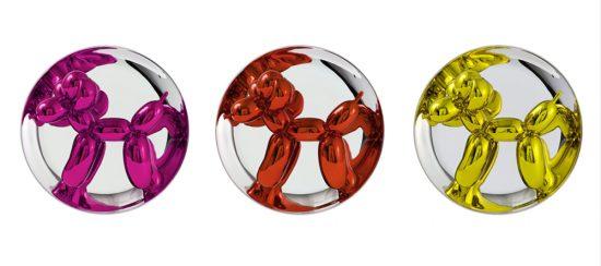 Jeff Koons Porcelain, Balloon Dogs, 2015 (Set of Three)