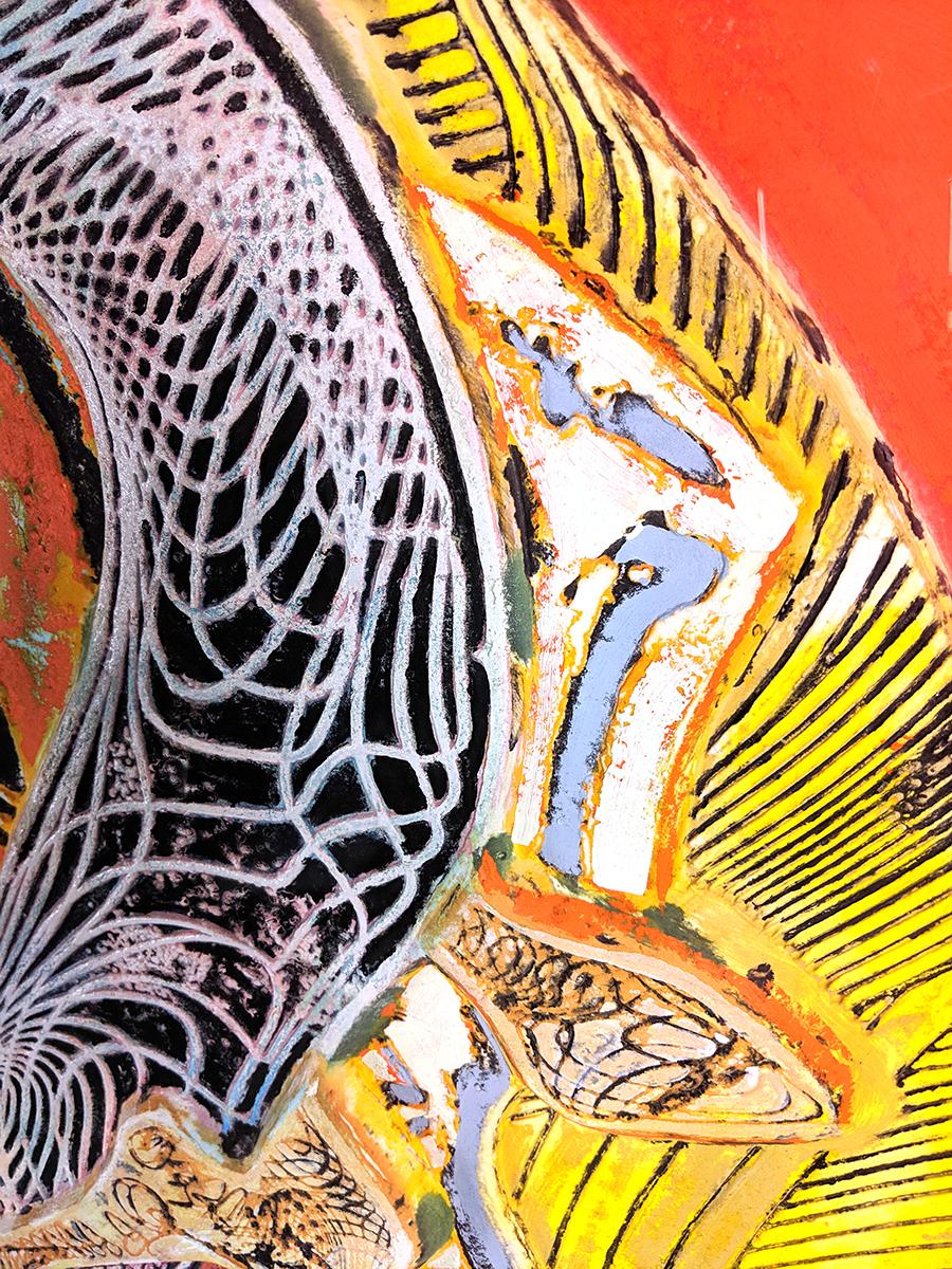 Frank Stella Untitled 1995 Acrylic