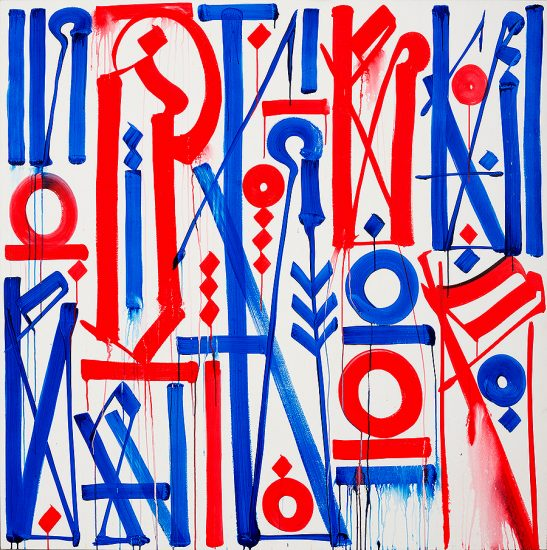 Retna Acrylic, Untitled, 2014