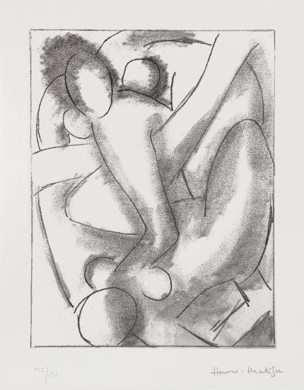 Henri Matisse Lithograph, Calypso from Ulysses, 1935