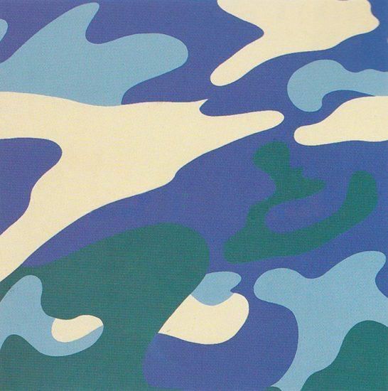 Andy Warhol Screen Print, Camouflage, 1987 FS II.411