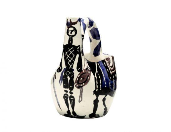 Pablo Picasso Ceramic, Cavalier et cheval (Cavalier and horse), 1952 A.R. 138