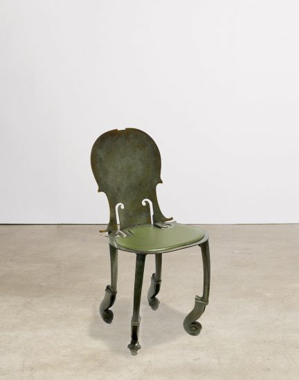 Arman Bronze, PRIVATE COLLECTION- Cello Chair, 1993