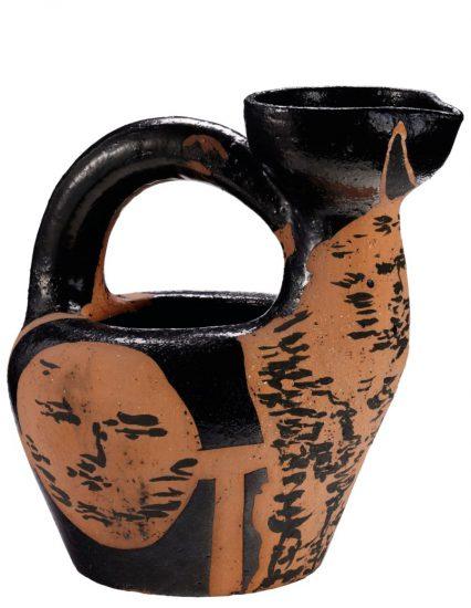 Pablo Picasso Ceramic, Centaure et visage (Centaure and Face), 1953 A.R. 188