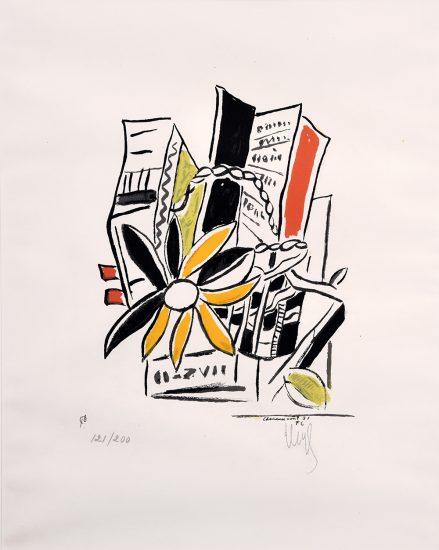 Fernand Léger Lithograph, Chevreuse Août, 1951