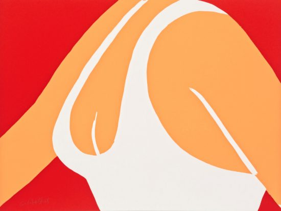 Alex Katz Lithograph, Coca-Cola Girl Pl. 2, 2021