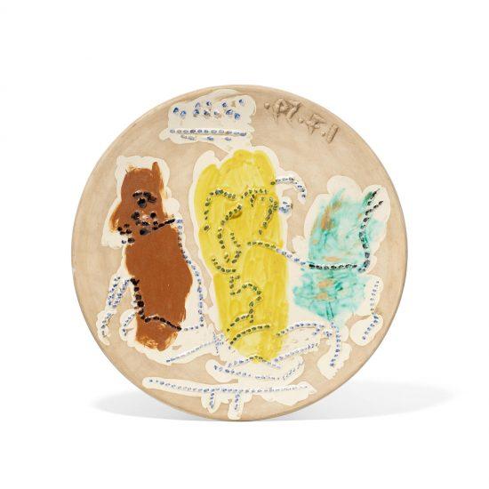 Pablo Picasso Ceramic, Cogida, 1959