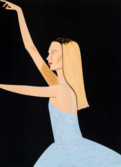 Alex Katz Silkscreen, Dancer 2, 2019