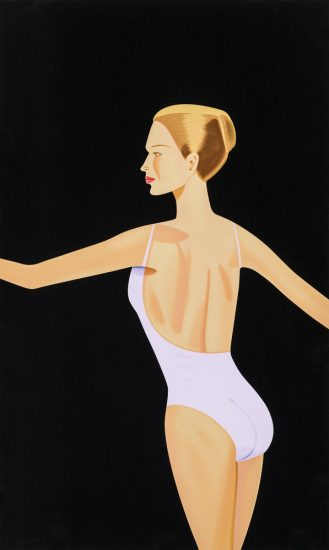Alex Katz Silkscreen, Dancer 3, 2019