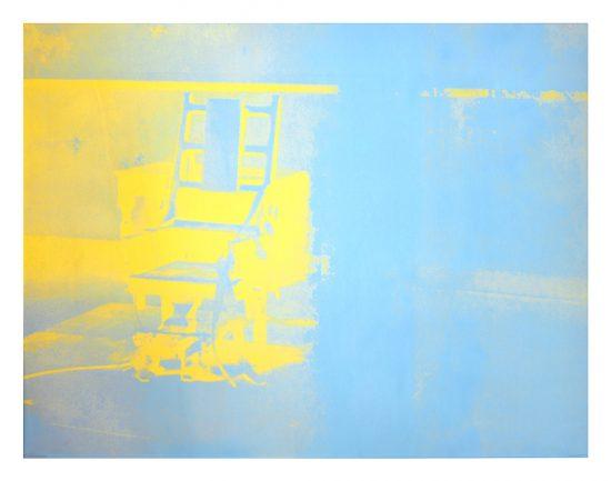 Andy Warhol Screen Print, Electric Chairs, 1971 FS II.77