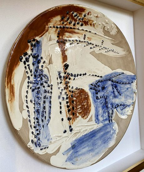 Pablo Picasso Ceramic, Estocado, from Service Scènes de Corrida, 1959 A.R. 422