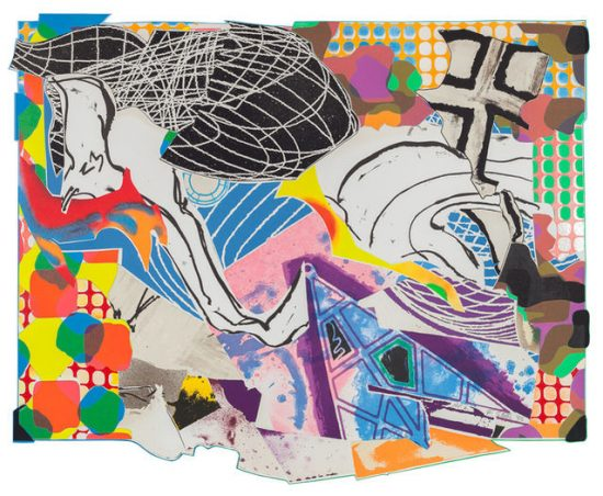 Frank Stella Mixed, Extracts, from the Moby Dick Deckle Edges Series, 1993