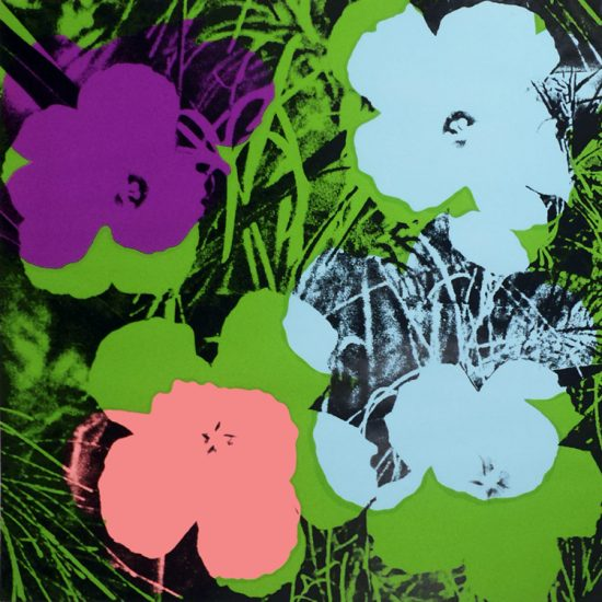 Andy Warhol Screen Print, Flowers 64, from Flowers Porfolio, 1970