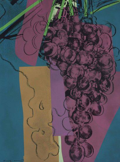 Andy Warhol Screen Print, Grapes, 1979 FS II.192