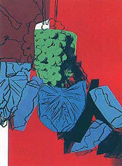 Andy Warhol Screen Print, Grapes, 1979 FS II.194