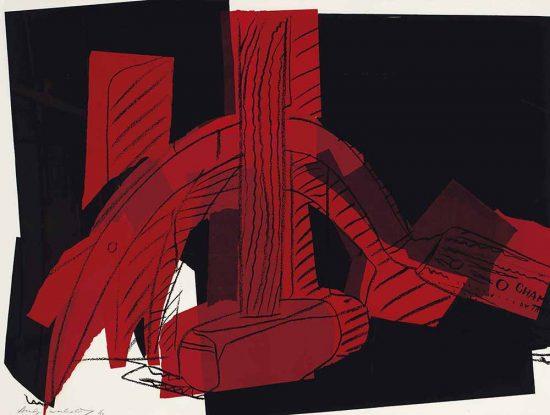 Andy Warhol Screen Print, Hammer and Sickle, 1977 FS II.161