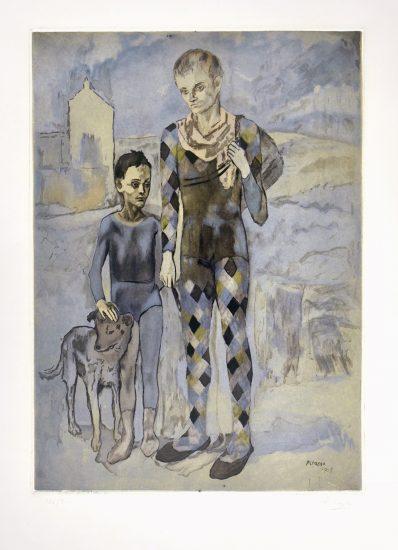 Pablo Picasso Artwork, Les Saltimbanques (The Acrobats), 1922
