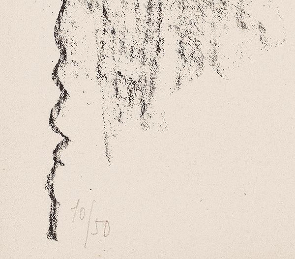 Pablo Picasso Lithograph Hibou au crayon 1947 edition