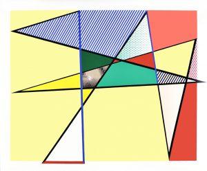 """Roy Lichtenstein Woodcut, Imperfect 67"""" X 79 7/8"""", 1988"""