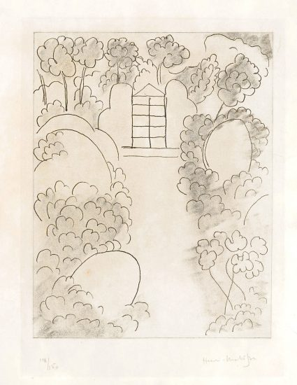 Henri Matisse Etching, Ithaque, from Ulysses, 1935