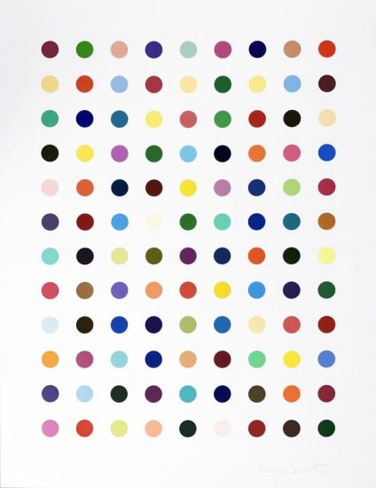 Damien Hirst Lithograph, Flumequine, 2007