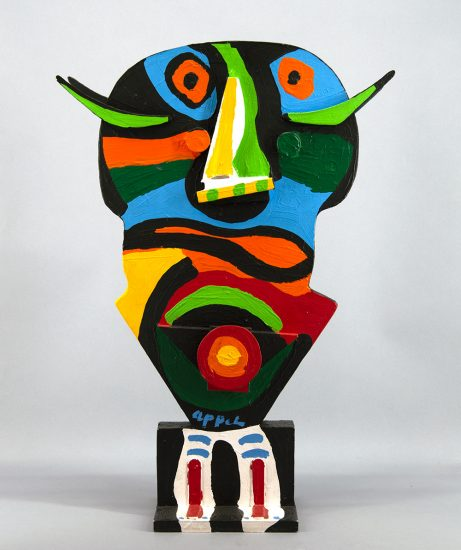 Karel Appel Sculpture, La Vierge Noire (The Black Virgin), c. 1975