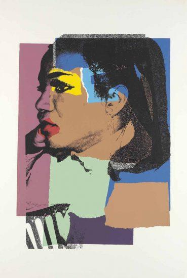 Andy Warhol Screen Print, Ladies and Gentlemen, 1975 FS II.129