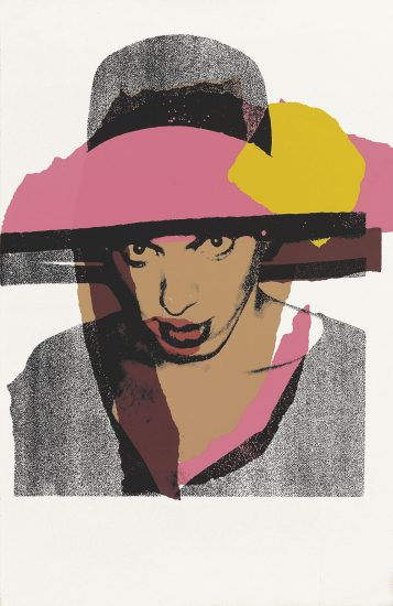 Andy Warhol Screen Print, Ladies and Gentlemen, 1975 FS II.130