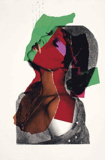 Andy Warhol Screen Print, Ladies and Gentlemen, 1975 FS II.131
