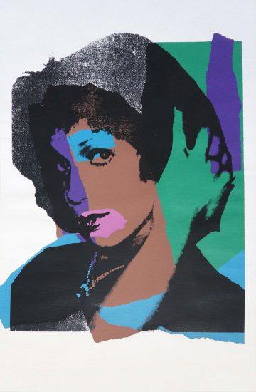 Andy Warhol Screen Print, Ladies and Gentlemen, 1975 FS II.132