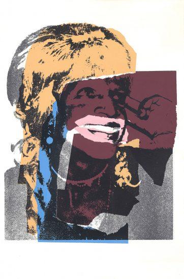 Andy Warhol Screen Print, Ladies and Gentlemen, 1975 FS II.133