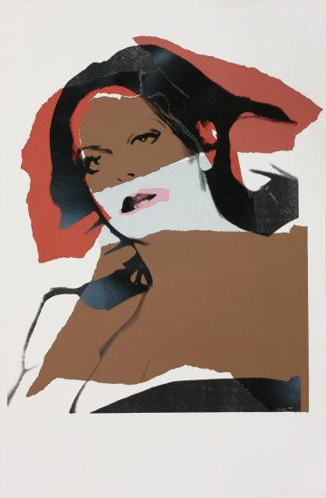 Andy Warhol Screen Print, Ladies and Gentlemen, 1975 FS II.134
