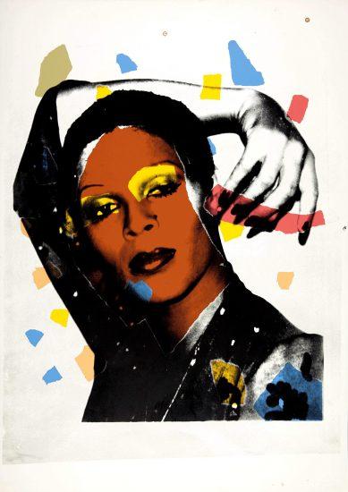 Andy Warhol Screen Print, Ladies and Gentlemen, 1975 FS II.135