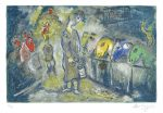 Marc Chagall Lithograph, Le Cirque (The Circus) from the Circus, 1967