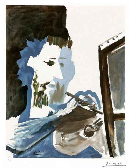 Pablo Picasso Collotype, Le Peintre (The Painter), 1963