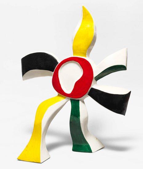 Fernand Léger Ceramic, La Fleur, 1952
