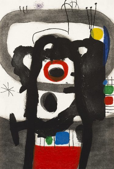 Joan Miró Etching, L'Enragé (The Enraged), 1967