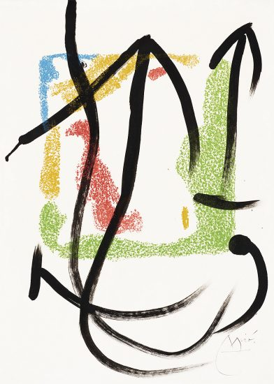 Joan Miró Lithograph, Les Essències de la Terra (The Essences of the Land), 1968