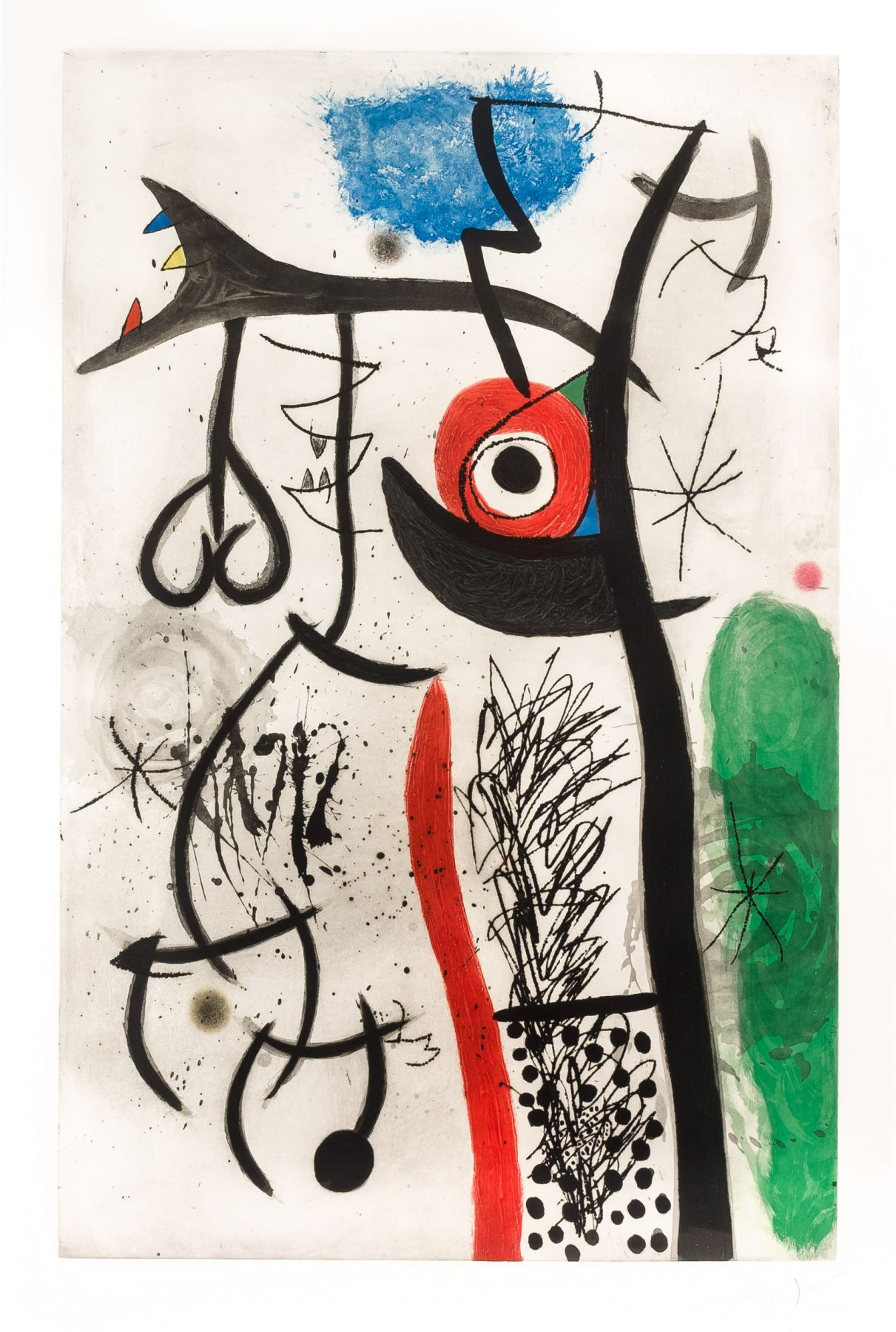 Joan Miro, L'Étranglé, 1974