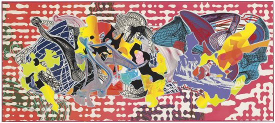 Frank Stella Screen Print, Libertina from Imaginary Places, 1995