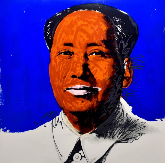 Andy Warhol Screen Print, Mao, 1972