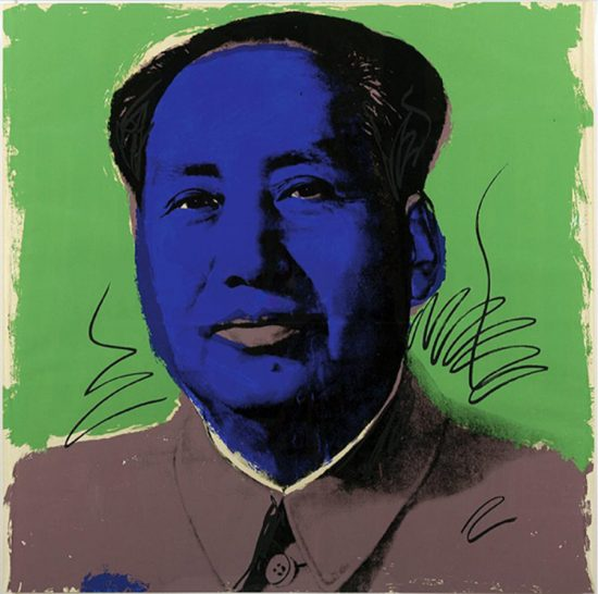Andy Warhol Screen Print, Mao 90, 1972