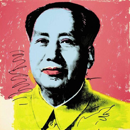 Andy Warhol Screen Print, Mao 91, 1972