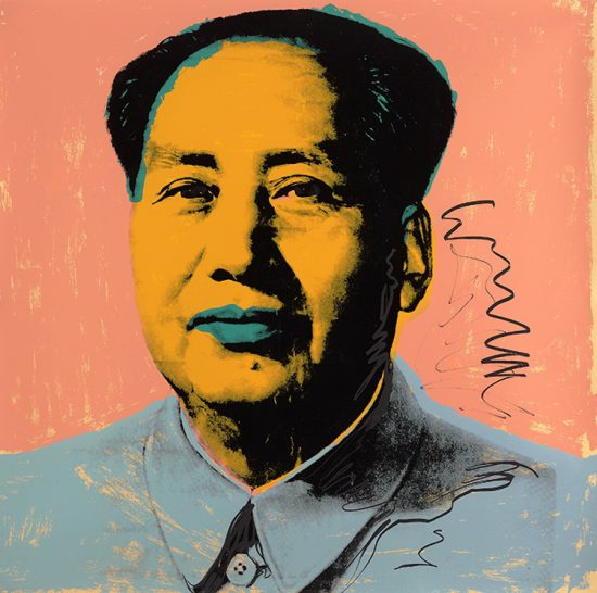 Andy Warhol Screen Print, Mao 92, 1972